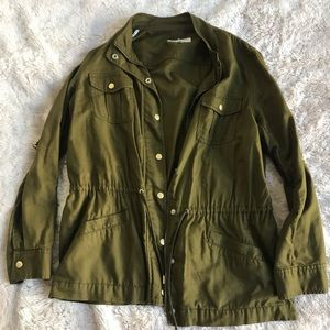 Jones New York green jacket